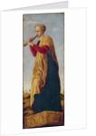 The Muse Euterpe by Francesco del Cossa