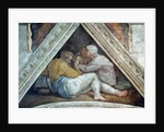 Sistine Chapel Ceiling: The Ancestors of Christ by Michelangelo Buonarroti