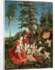 Rest on the Flight into Egypt by Lucas