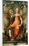 The Muse Thalia by Michele Pannonio