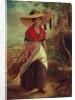 Working Girl by Johann Baptist Reiter