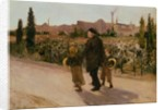 All Souls' Day by Jules Bastien-Lepage