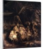 Adoration of the Shepherds by Rembrandt Harmensz. van Rijn