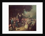 George Whitefield preaching by John Collet