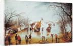 Winter Scene by Adriaen Pietersz. van de Venne