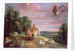 The Hawk and the Hen by Frans Snyders or Snijders