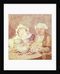 Gluttons by Thomas Rowlandson