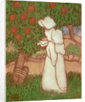 Woman in a White Dress by Jozsef Rippl-Ronai
