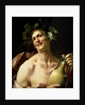 Self Portrait as Bacchus by Jan van Dalen