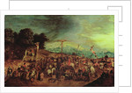 The Crucifixion by Pieter the Younger Brueghel