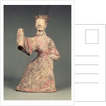 Figure of a male dancer by Eastern Han Dynasty Chinese School