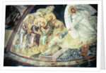 Anastasis in the Parecclesian apse vault by Byzantine