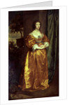 Martha Cranfield by Sir Anthony van Dyck