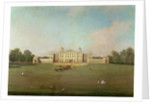 Badminton House, Gloucestershire by Canaletto