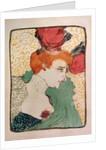 Mademoiselle Marcelle Lender by Henri de Toulouse-Lautrec
