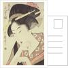 Bust portrait of the heroine Kioto of the Itoya by Kitagawa Utamaro