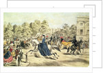 Riding in Rotten Row, Hyde Park by John Ritchie