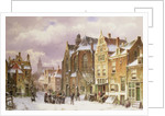 Snow in Amsterdam by Willem Koekkoek