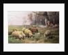The Shepherd's Family by Adolf Ernst Meissner