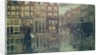 Corner of Leidsche Square, Amsterdam by Georg-Hendrik Breitner