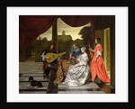 Musical Scene in Amsterdam by Pieter de Hooch