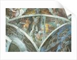 Sistine Chapel Ceiling: Haman by Michelangelo Buonarroti