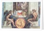 Sistine Chapel Ceiling: Ignudi by Michelangelo Buonarroti