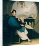 A Geisha Girl by George Chinnery