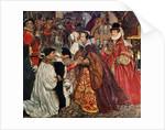 Queen Mary and Princess Elizabeth entering London, 1553 by John Byam Liston Shaw