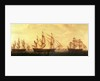 Three Hudson Bay ships in the Thames by Francis Holman
