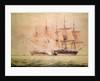 Boarding the 'Chesapeake' by John Christian Schetsky