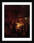 A Blacksmith's Shop by Joseph Wright of Derby