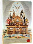 Trade Emblem of the Amalgamated Society of Engineers, Machinists, Millwrights, Smiths and Pattern Makers by James Sharples