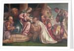 Adoration of the Magi by Francesco Montemezzano