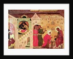 Nativity of the Virgin, c.1600-25 by Russian School