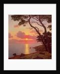 Calme de Soir, Cote d'Azur by Ivan Fedorovich Choultse
