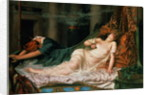 The Death of Cleopatra by Reginald Arthur