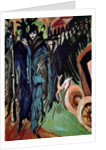 Friedrichstrasse by Ernst Ludwig Kirchner