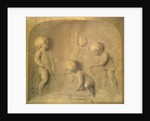 Putti Fashioning Cupid's Arrows by Jacob de Wit