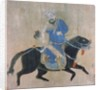 Mongol archer on horseback by Ming Dynasty Chinese School