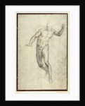 Study for The Last Judgement by Michelangelo Buonarroti