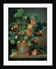 Still life with strawberries by W. Weiss