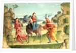 Flight into Egypt by Marco Meloni