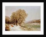 On the River Neckar, Heidelberg by Joseph Paul Pettit