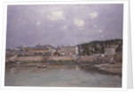 The Harbour at Trouville, 1884 by Eugene Louis Boudin