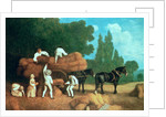 The Harvest Wagon by George Stubbs