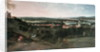 View across Greenwich Park towards London by Jean Rigaud
