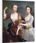 Martha and Teresa Blount by Charles Jervas
