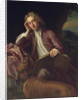 Alexander Pope and his dog, Bounce by Jonathan Richardson