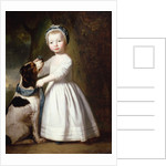 Little Boy with a Dog by George Romney